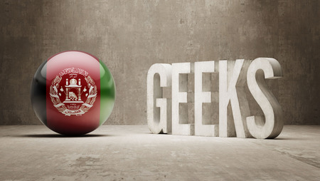 Afghanistan High Resolution Geeks  Concept photo