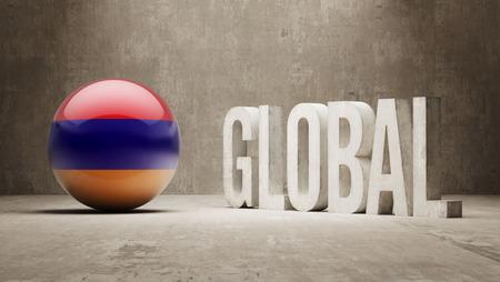 armenian: Armenia High Resolution Global  Concept