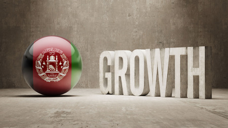 afghanistan': Afghanistan High Resolution Growth  Concept Stock Photo