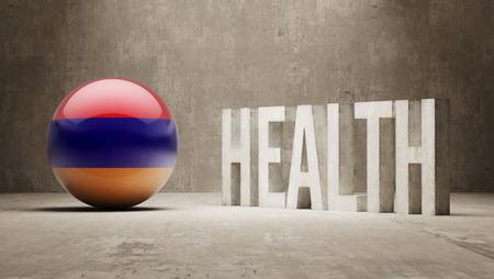 armenian: Armenia High Resolution Health  Concept