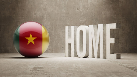 cameroon: Cameroon High Resolution Home  Concept Stock Photo