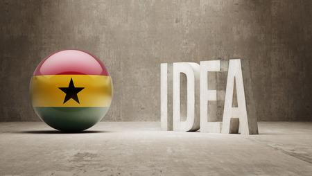 Ghana High Resolution Idea  Concept photo