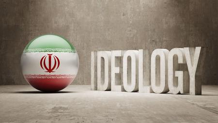 ideology: Iran High Resolution Ideology  Concept