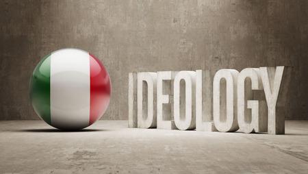ideology: High Resolution Ideology  Concept