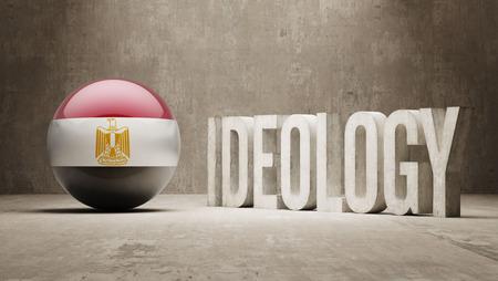 ideology: Egypt High Resolution Ideology  Concept