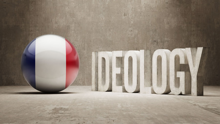 ideology: France High Resolution Ideology  Concept Stock Photo