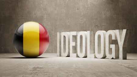 dogma: Belgium High Resolution Ideology  Concept Stock Photo