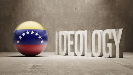 ideology: Venezuela High Resolution Ideology  Concept Stock Photo