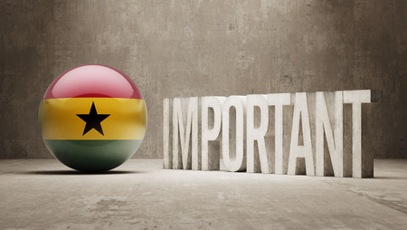 critical: Ghana High Resolution Important  Concept