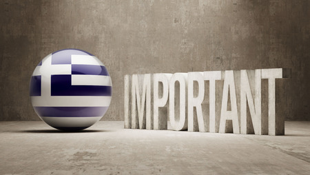 ponderous: Greece High Resolution Important  Concept