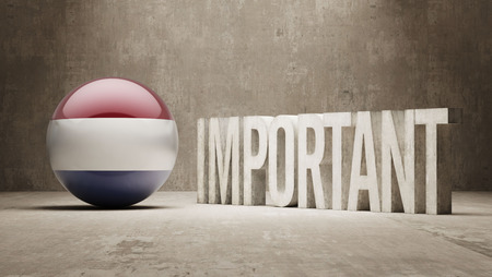 ponderous: Netherlands High Resolution Important  Concept Stock Photo