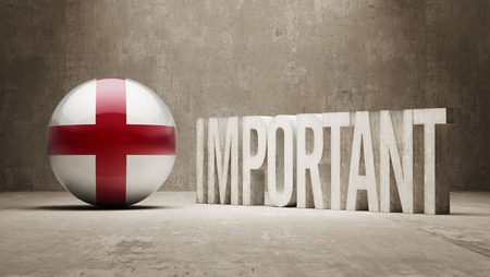 importance: England High Resolution Important  Concept Stock Photo