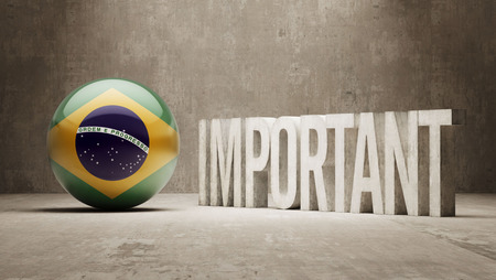 importance: Brazil High Resolution Important  Concept Stock Photo