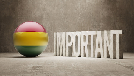 ponderous: Bolivia High Resolution Important  Concept Stock Photo