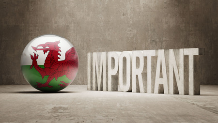 weighty: Wales High Resolution Important  Concept