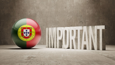 ponderous: Portugal High Resolution Important  Concept Stock Photo