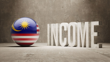 price gain: Malaysia High Resolution Income  Concept