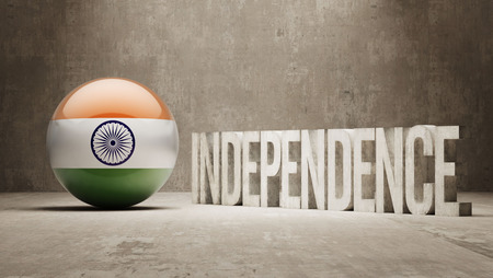 India High Resolution Independence Concept photo