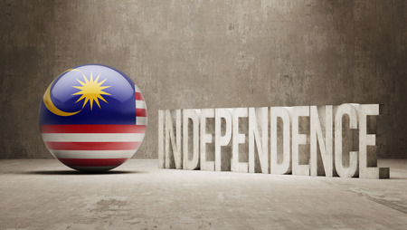 Malaysia High Resolution Independence Concept photo