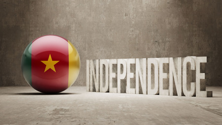 cameroon: Cameroon High Resolution Independence Concept