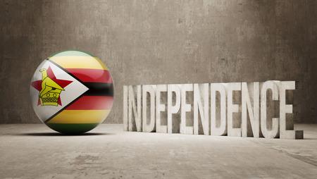 zimbabwe: Zimbabwe High Resolution Independence Concept