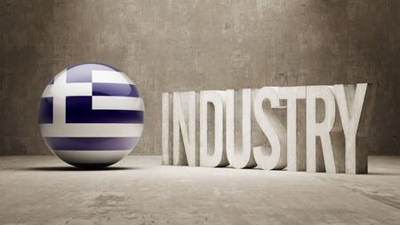 manufactory: Greece High Resolution Industry Concept