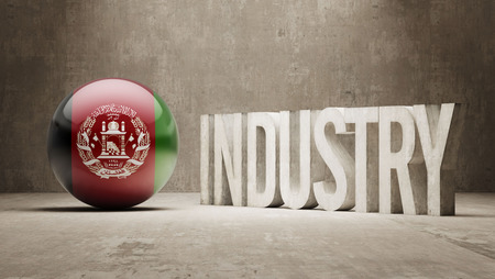 manufactory: Afghanistan High Resolution Industry Concept