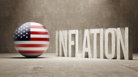 inflation: United States High Resolution Inflation Concept