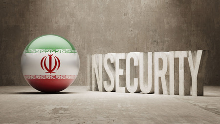 insecurity: Iran High Resolution Insecurity Concept Stock Photo