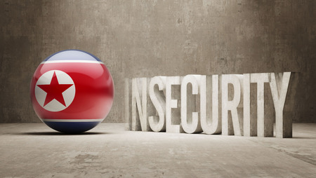 insecurity: North Korea High Resolution Insecurity Concept