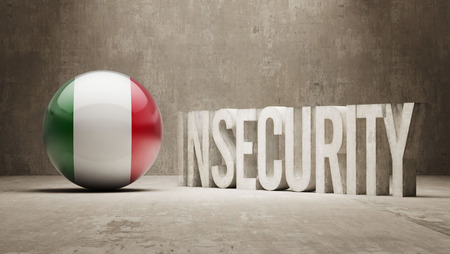 insecurity: High Resolution Insecurity Concept