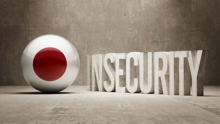 insecurity: Japan High Resolution Insecurity Concept