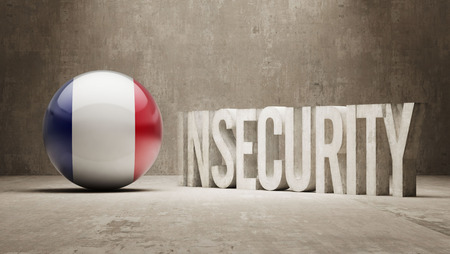 insecurity: France High Resolution Insecurity Concept Stock Photo