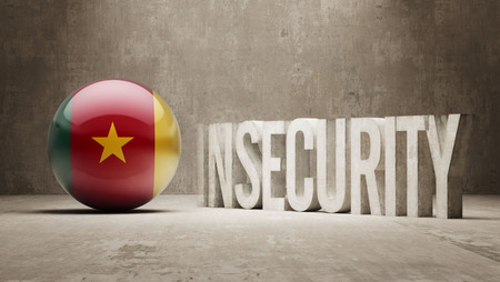 insecurity: Cameroon High Resolution Insecurity Concept