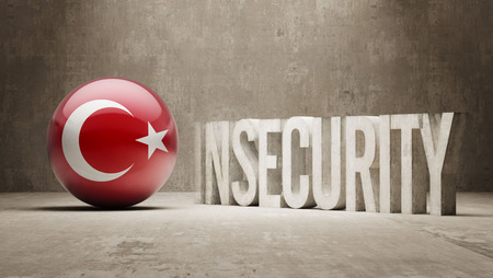 insecurity: Turkey High Resolution Insecurity Concept Stock Photo