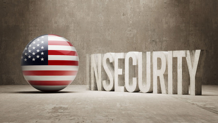 insecurity: United States High Resolution Insecurity Concept
