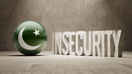 insecurity: Pakistan High Resolution Insecurity Concept