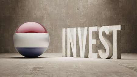 Netherlands High Resolution Invest Concept photo