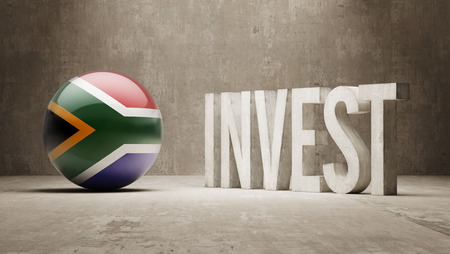 South Africa High Resolution Invest Concept photo