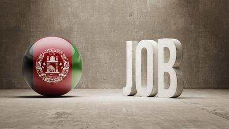 afghanistan': Afghanistan High Resolution Job Concept