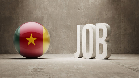 cameroon: Cameroon High Resolution Job Concept