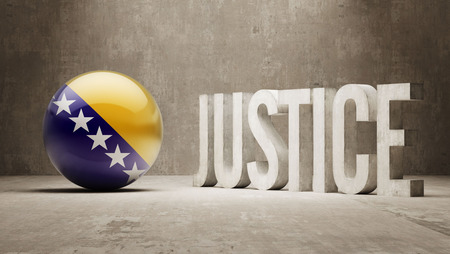 herzegovina: Bosnia and Herzegovina High Resolution Justice Concept