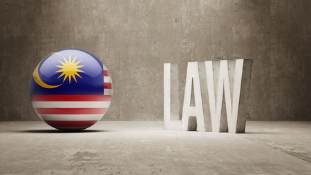 foreclosure: Malaysia High Resolution Law Concept