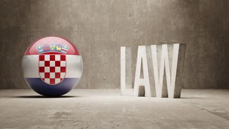 Croatia High Resolution Law Concept Stock Photo