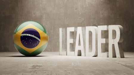 Brazil Leader Concept