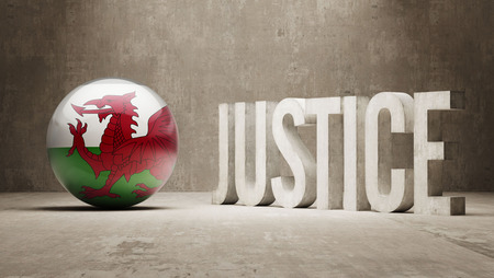 Wales  Justice Concept photo
