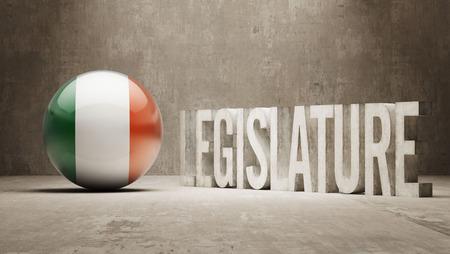 legislature: Ireland   Legislature Concept Stock Photo