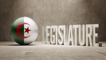 legislature: Algeria  Legislature Concept