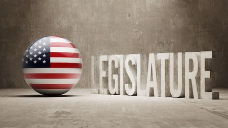 legislature: United States  Legislature Concept Stock Photo