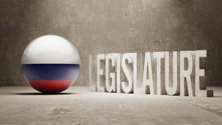 legislature: Russia Legislature Concept